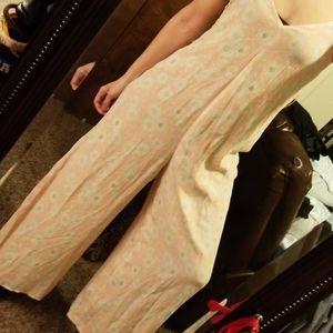 Floral vintage jumpsuit